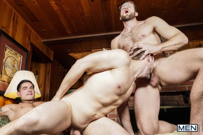 Twink Peaks (Aspen, Colby Keller, Griffin Barrows, Noah Jones, Vadim Black and Xander Brave) (Part 4) at Jizz Orgy