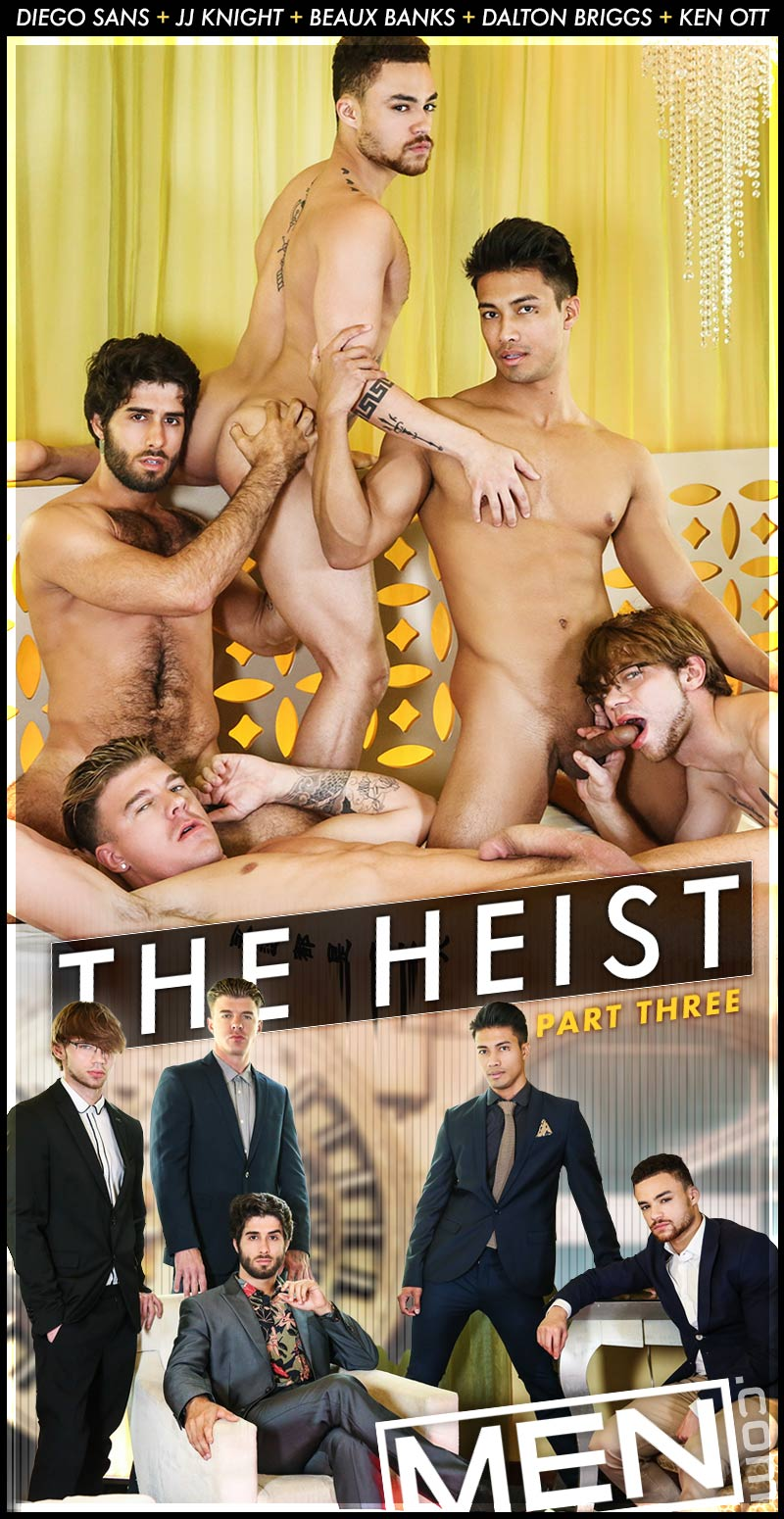 The Heist, Finale (Diego Sans, Ken Ott, JJ Knight, Beaux Banks and Dalton Briggs) at Drill My Hole