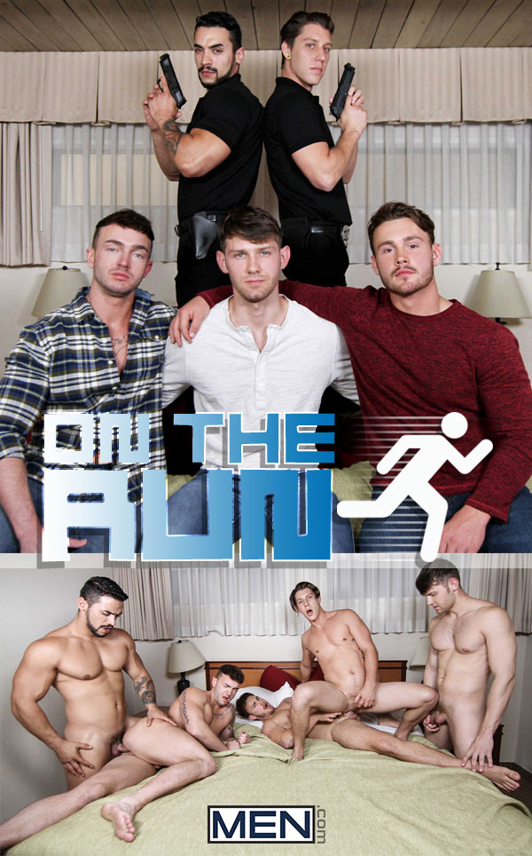 On The Run (Arad Winwin, Jacob Peterson, Jake Ashford, Paul Canon & Trevor Long) (Part 3) at Drill My Hole