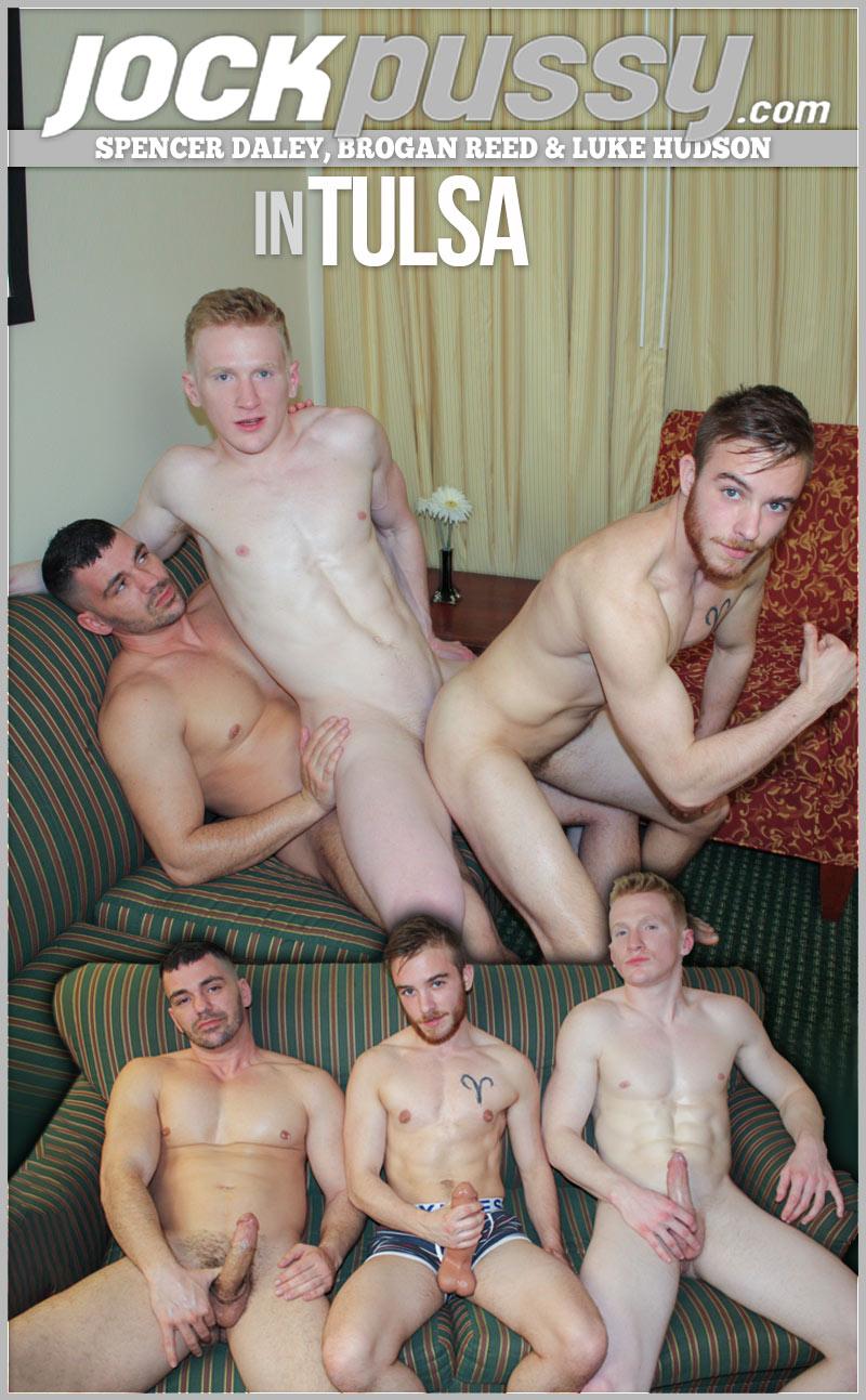 Spencer Daley, Brogan Reed & Luke Hudson in Tulsa at JockPussy