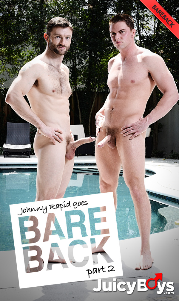 Johnny Rapid Goes Bareback (Dennis West Fucks Jake Wilder) (Part 2) at JuicyBoys