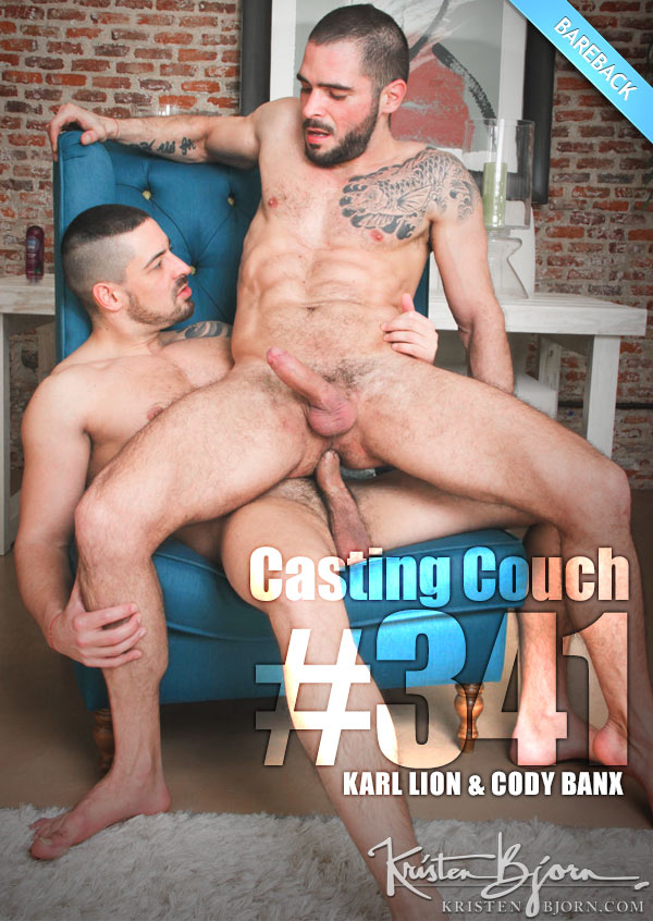Casting Couch #342 (Karl Lion & Cody Banx) (Bareback Flip-Flop) at KristenBjorn