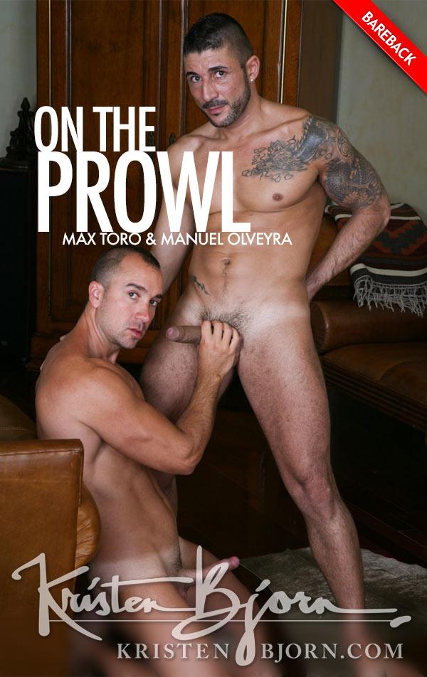 On the Prowl - Scene 8 (Max Toro & Manuel Olveyra) (Bareback) at KristenBjorn