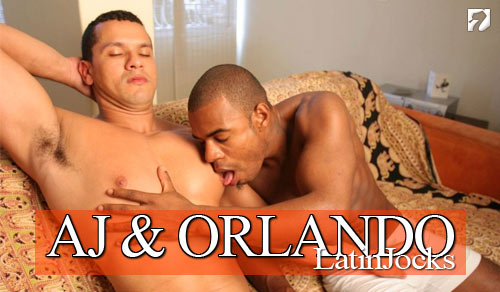 AJ and Orlando at LatinJocks.com