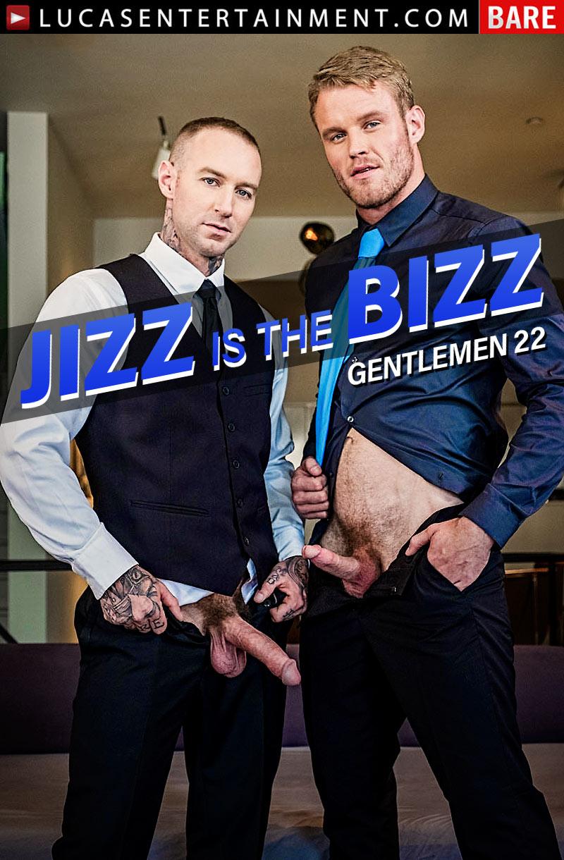 Gentlemen 22: Jizz Is The Bizz (Shawn Reeve and Dylan James Flip-Fuck) (Scene 2) at Lucas Entertainment