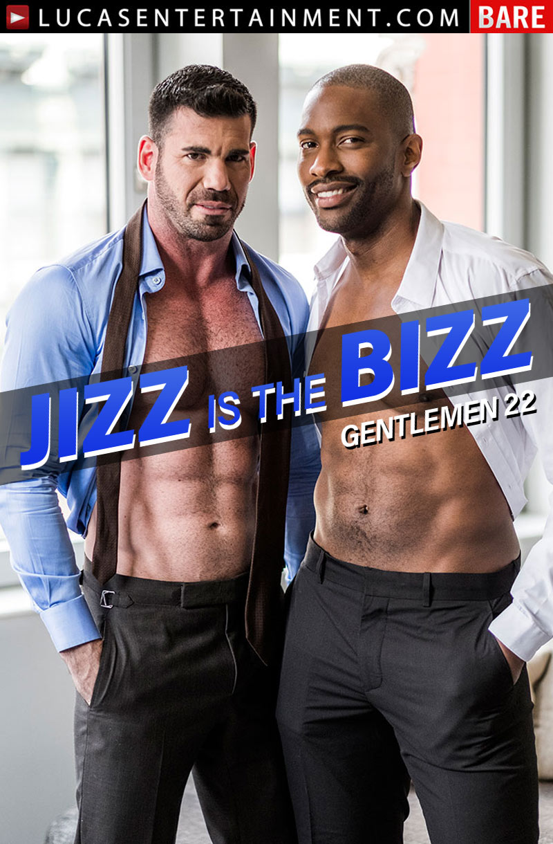 Gentlemen 22: Jizz Is The Bizz (Lawrence Portland and Billy Santoro Flip-Fuck) (Scene 4) at Lucas Entertainment
