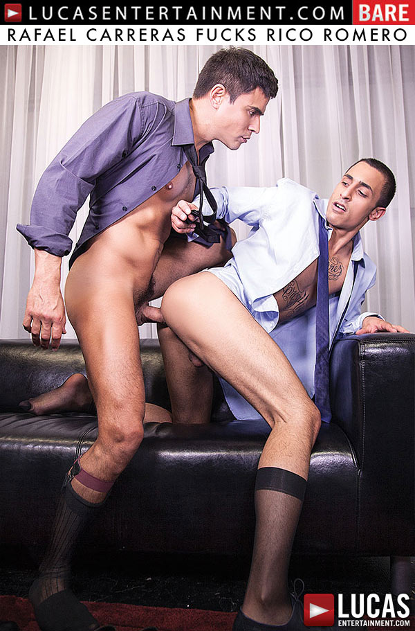 Rafael Carreras Fucks Rico Romero (Bareback) at LucasEntertainment