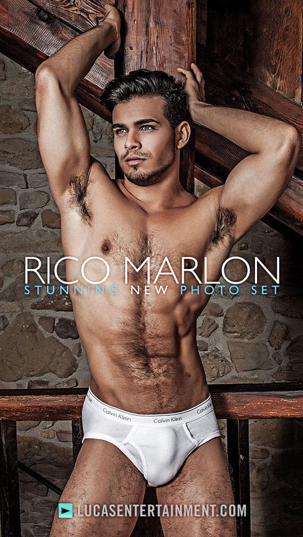 Rico Marlon's Stunning Photo Set at Lucas Entertainment