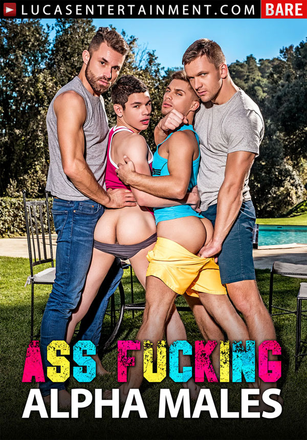 Ass-Fucking Alpha Males (Andrey Vic, James Castle, Klim Gromov and Ricky Verez) (Scene 3) at Lucas Entertainment