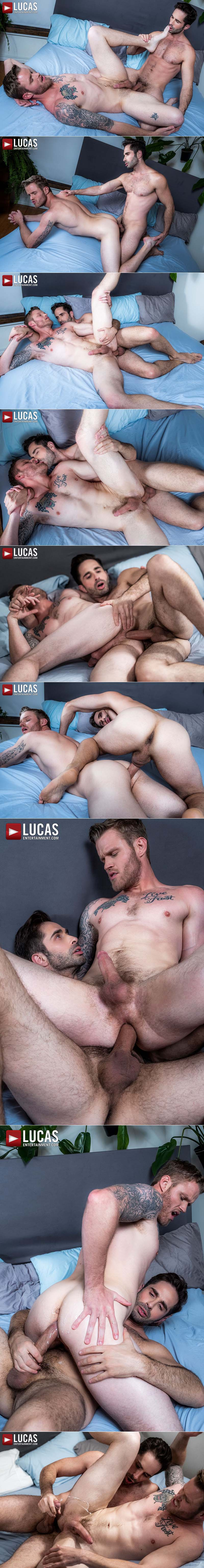 Ganged, Banged and Pounded, Scene Three: Michael Lucas Tops Shawn Reeve at Lucas Entertainment