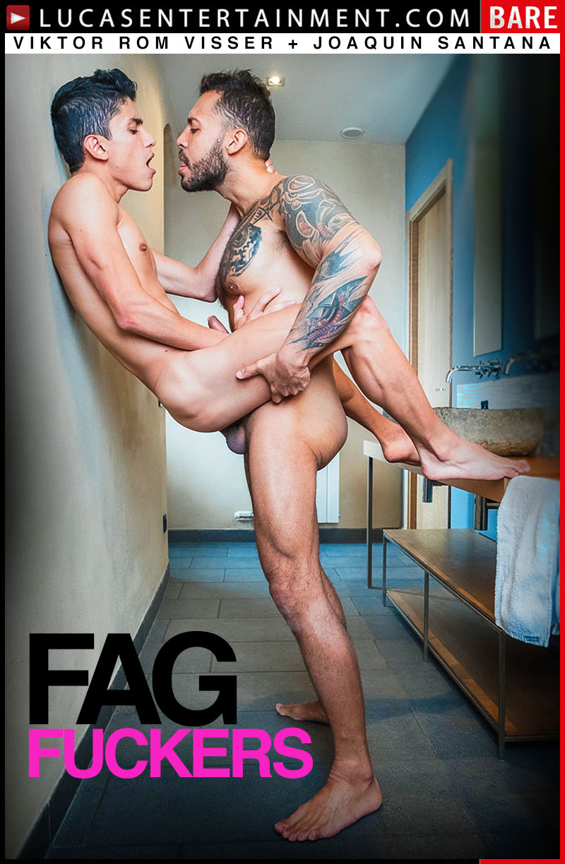 FAG FUCKERS!, Scene 3 (Viktor Rom Visser Fucks Joaquin Santana) at Lucas Entertainment