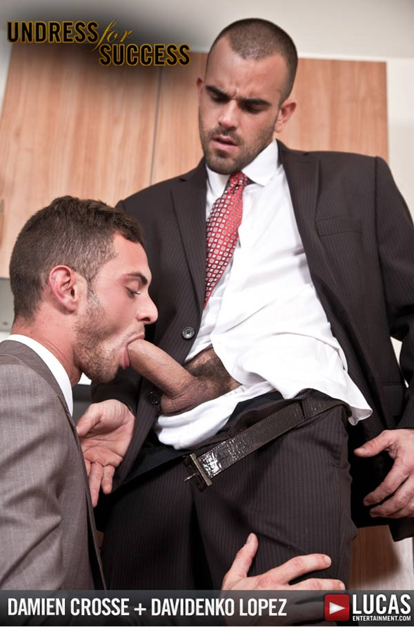 Damien Crosse & Davidenko Lopez (Undress for Success) at LucasEntertainment.com