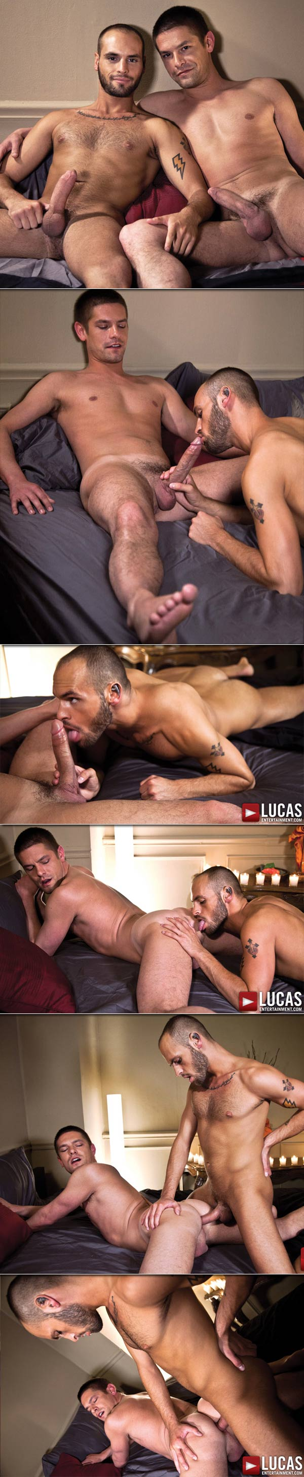 Nova Rubio & Austin Chandler (Fuck Bareback by Candlelight) at LucasEntertainment.com