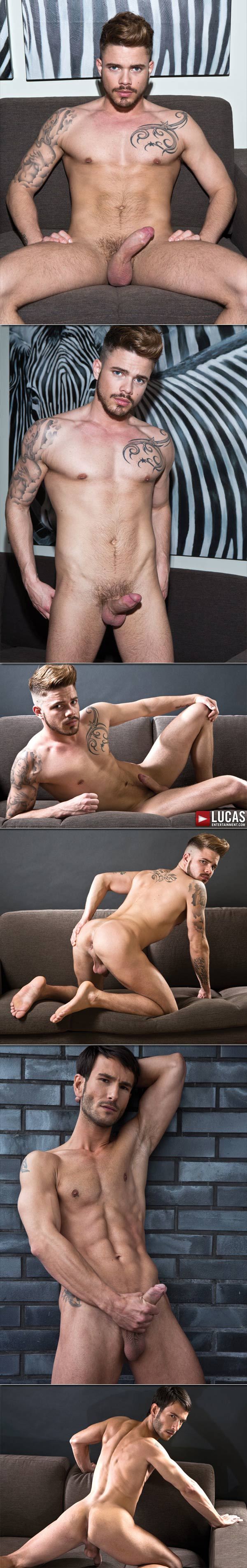 Valentino Medici, Fabio Lopez & Mark Sanz (Bareback Web Exclusive) at LucasEntertainment.com