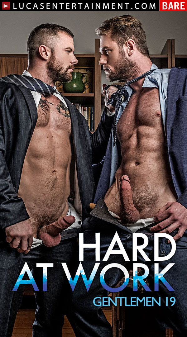 Gentlemen 19: Hard At Work (Sergeant Miles Fucks Ace Era) (Scene 3) at Lucas Entertainment