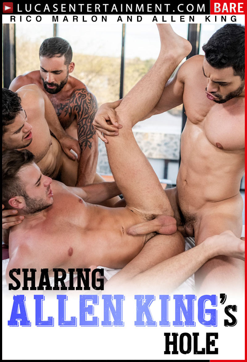 Allen King Porn Star Webside lucas entertainment: rico marlon and allen king flip-fuck in