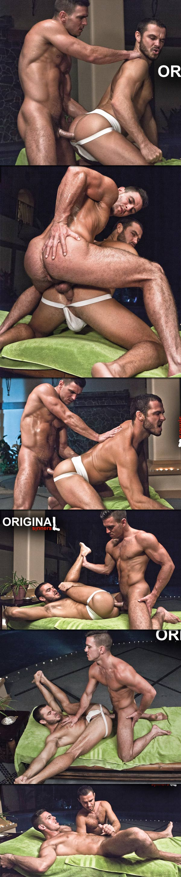 Original Sinners (Jessy Ares & Paddy O'Brian) (Scene 5) at LucasEntertainment.com