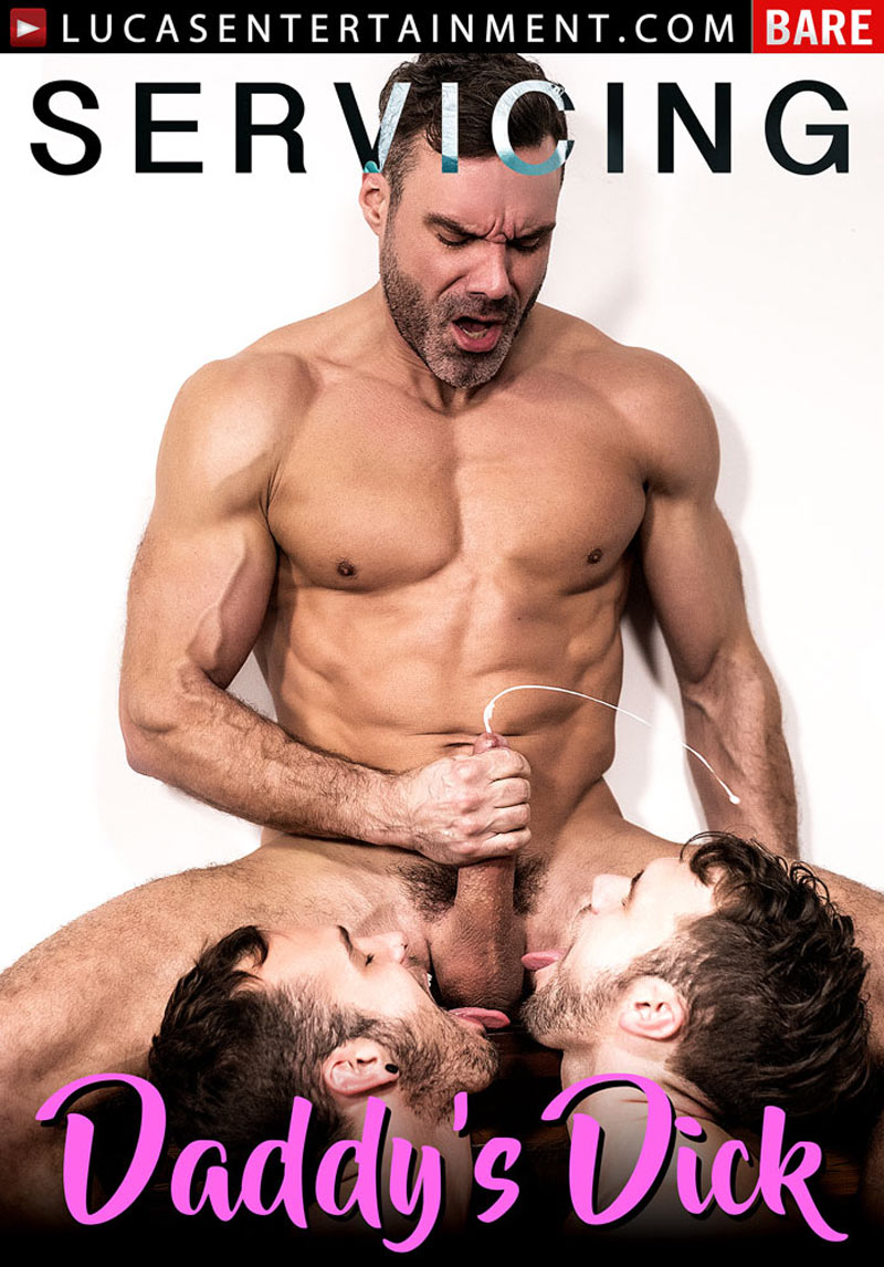 Servicing Daddy's Dick, Scene 1 (Manuel Skye, Blaze Austin and Drake Rogers) at Lucas Entertainment