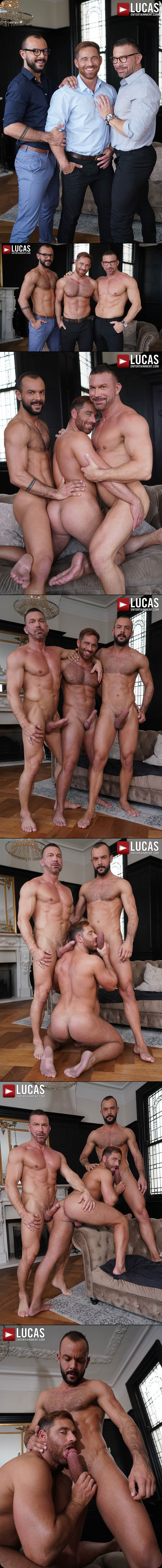 Bareback Auditions 13: New Faces, New Wood: Scene 3 (Tomas Brand And Sir Peter Double-Team Jonas Jackson) at LucasEntertainment