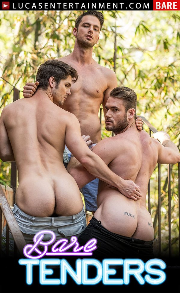 Bare Tenders (Raw Threesome with Ace Era, Devin Franco and Damon Heart) (Scene 3) at Lucas Entertainment