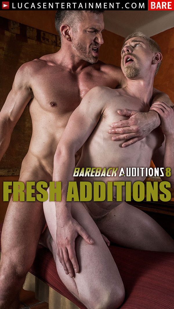 Bareback Auditions 8: Fresh Additions (Tomas Brand Tops Cody Winter Bareback) (Scene 3) at LucasEntertainment