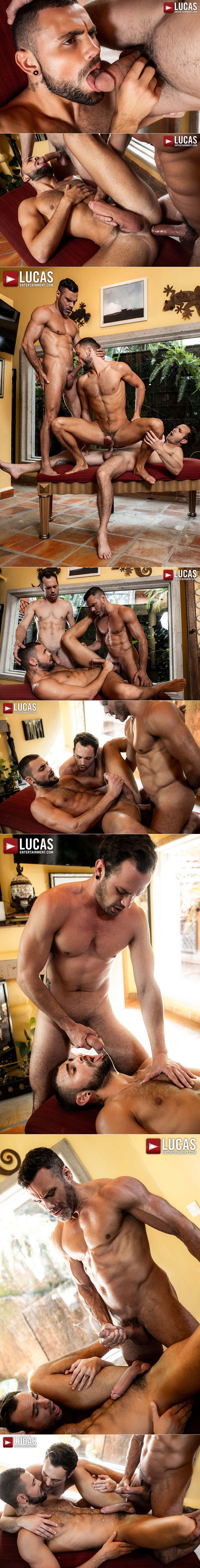 Alpha Daddy, Scene Three (Manuel Skye Fucks Jeffrey Lloyd and Drake Rogers) at Lucas Entertainment