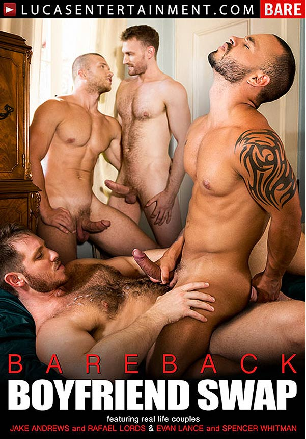 Bareback Boyfriend Swap (Spencer Whitman Pounds Rafael Lords) (Scene 2) at LucasEntertainment