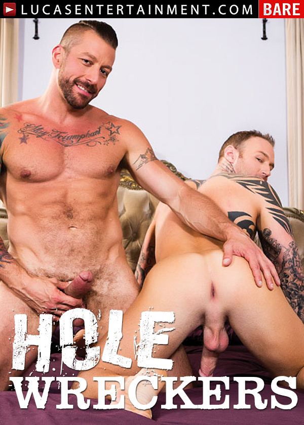 Hole Wreckers (Dylan James and Hugh Hunter Flip-Fuck Raw) (Scene 1) at LucasEntertainment
