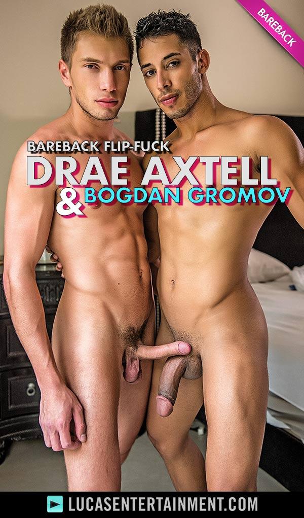 Drae Axtell Flip-Fucks Bareback With Bogdan Gromov at LucasEntertainment