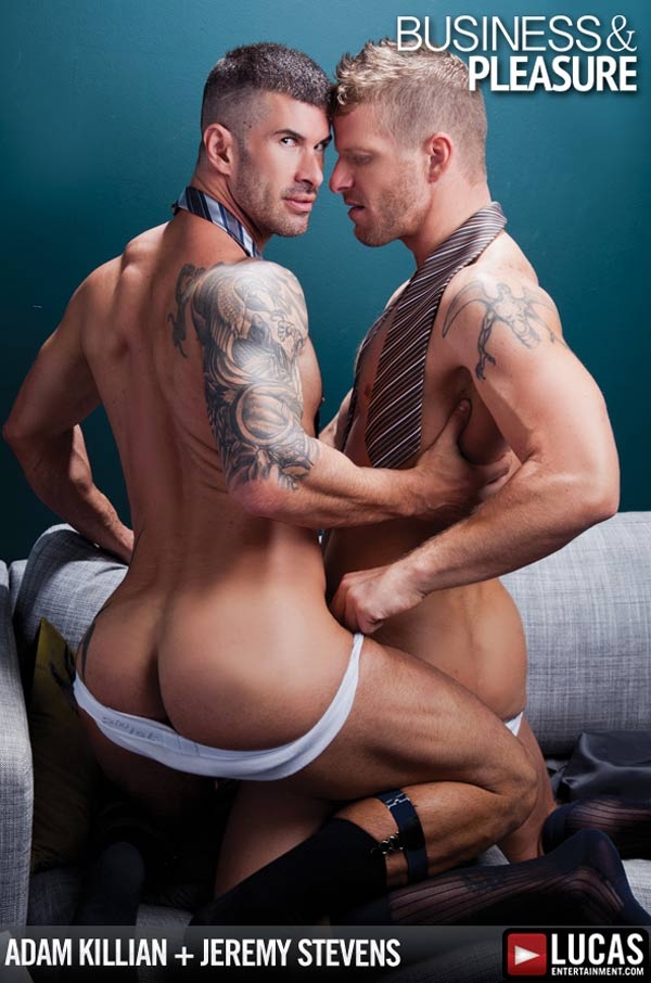 Business and Pleasure (Adam Killian & Jeremy Stevens)  at LucasEntertainment.com