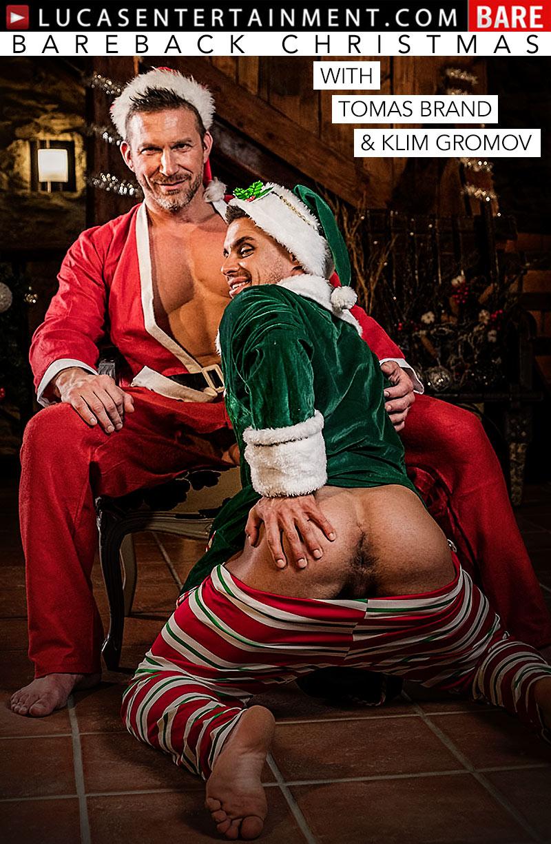 Bareback Christmas 2017 (Tomas Brand Fucks Klim Gromov)