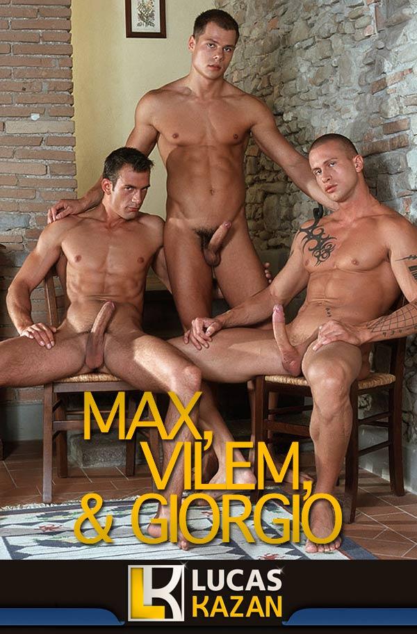 Max, Vilem & Giorgio at LucasKazan.com