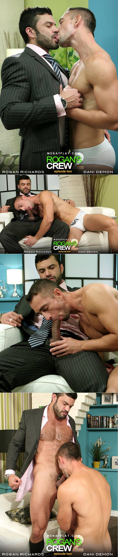 Rogan's Crew: Episode 2 (Starring Rogan Richards & Dani Demon) on MenAtPlay