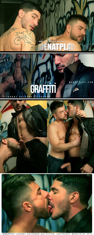 Graffiti (starring Johnny Hazzard & Patrik) on MenAtPlay