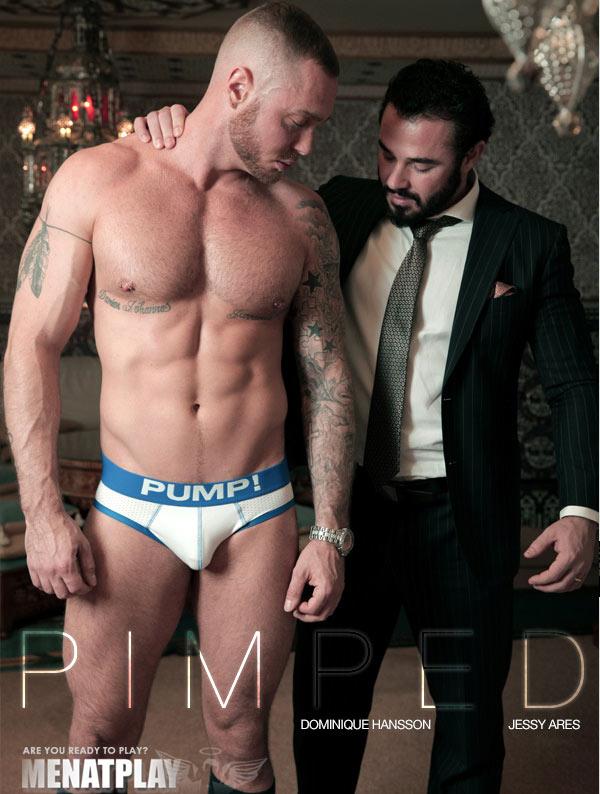 Pimped (Dominique Hansson & Jessy Ares) on MenAtPlay