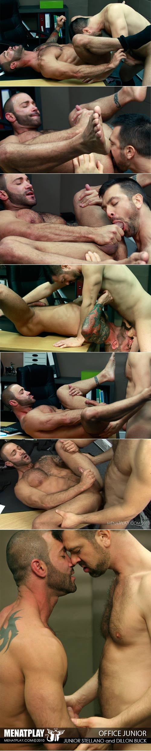 Office Junior (Junior Stellano & Dillon Buck) on MenAtPlay