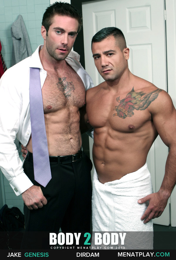 Body to Body (Starring Jake Genesis & David Dirdam) on MenAtPlay