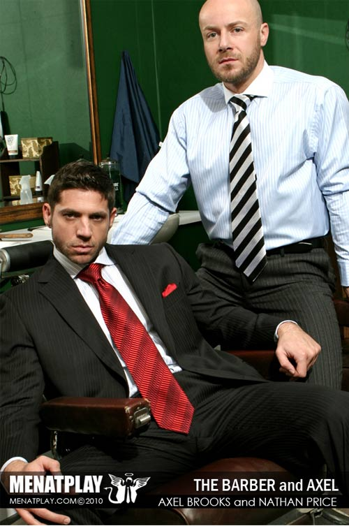 Axel Brooks & Nathan Price (The Barber) on MenAtPlay