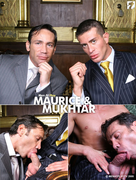 Maurice & Mukhtar at Men At Play