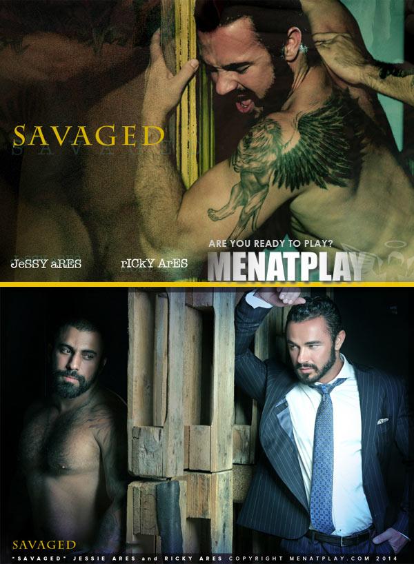 Savaged (Starring Jessy Ares & Ricky Ares) on MenAtPlay