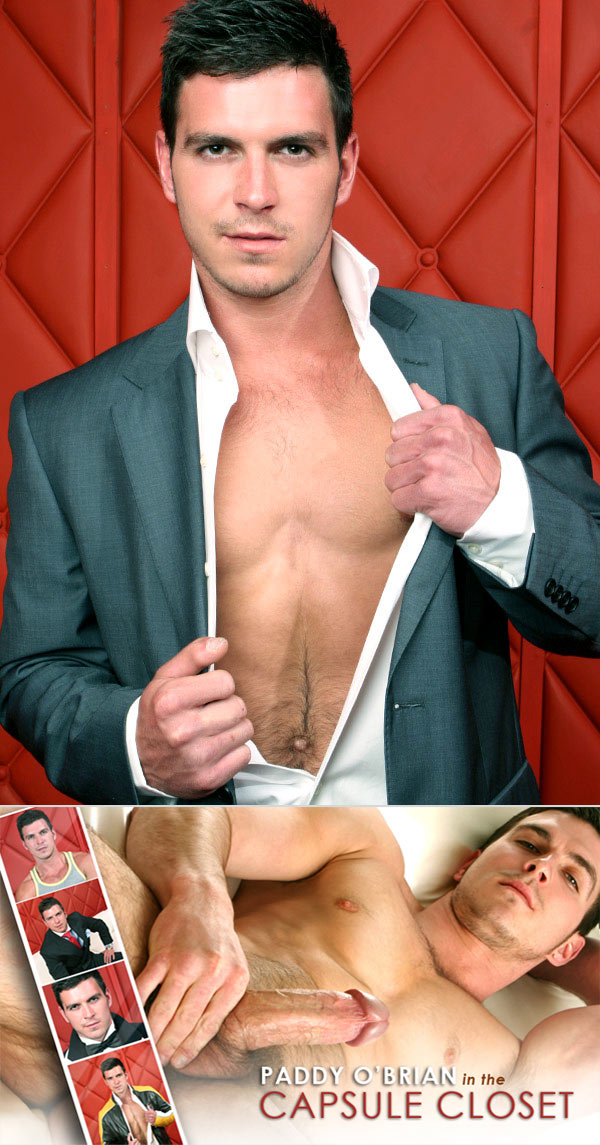 Capsule Closet (Starring Paddy O'Brian) on MenAtPlay