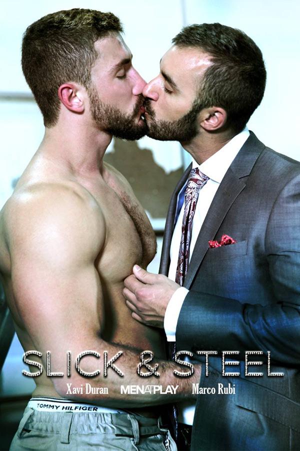 Slick & Steel (Xavi Duran Fucks Marco Rubi) on MenAtPlay