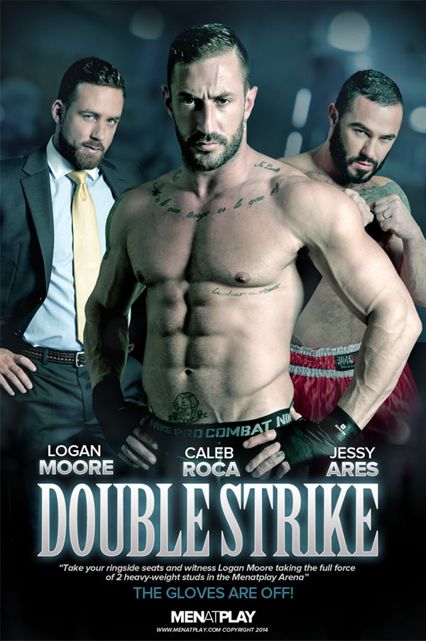Double Strike (Logan Moore, Jessy Ares and Caleb Roca) on MenAtPlay