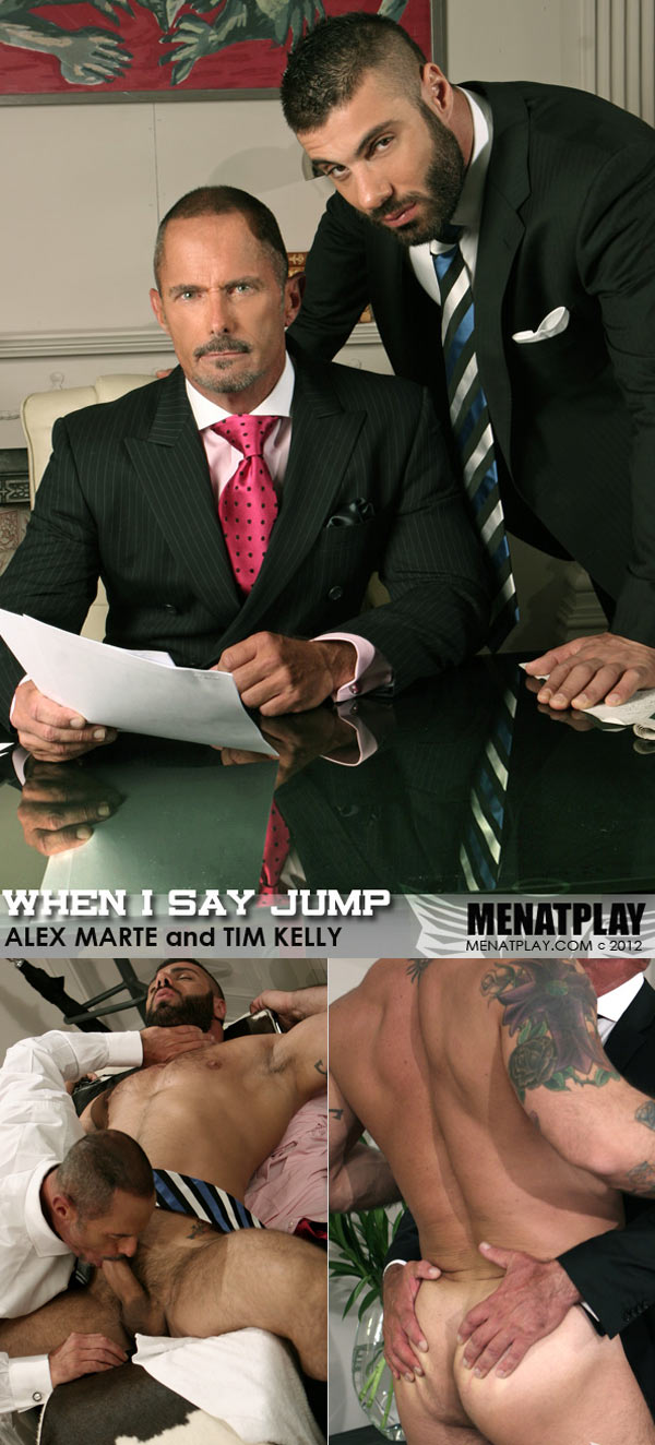 When I Say Jump (Starring Alex Marte and Tim Kelly) on MenAtPlay