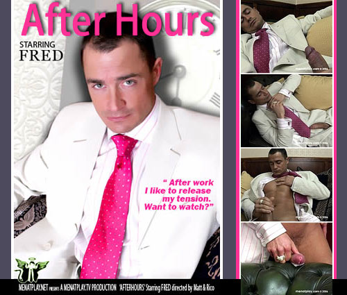 New Video: 'After Hours' Starring Fred Goldsmith on MenAtPlay.net