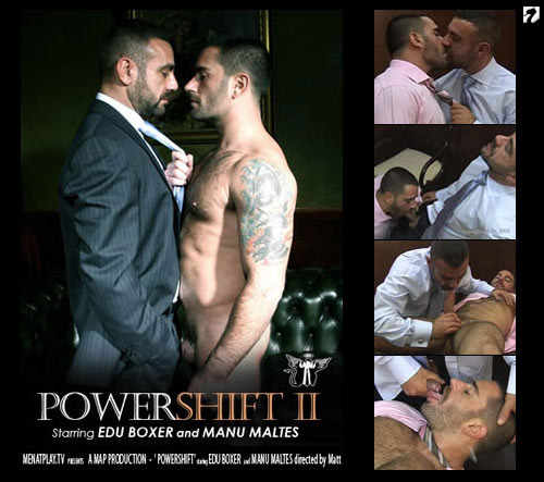 Power Shift II on Men At Play