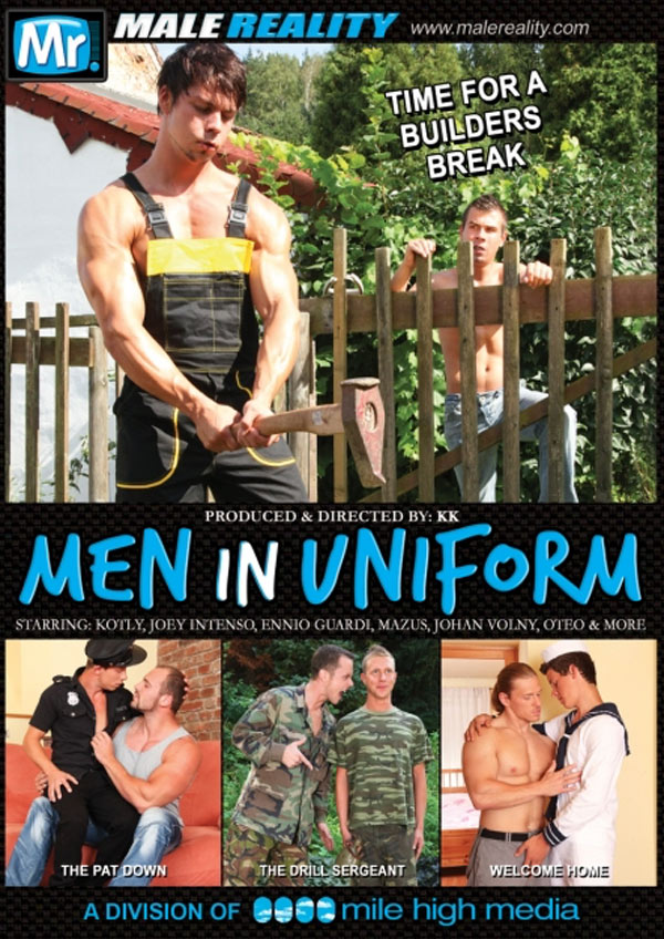 Men In Uniform (Black & Tommy White) (Scene 5) at Male Reality