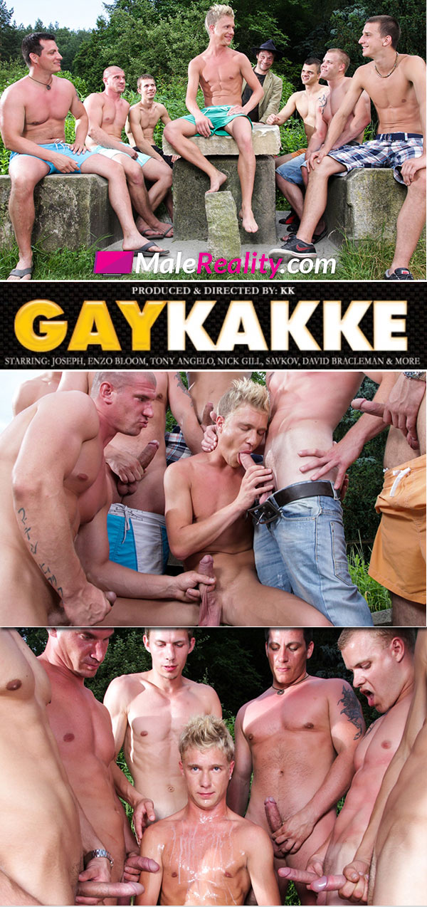 Gaykakke (Benjamin, Robert, George Basten & Max Born) (Scene 4) at Male Reality