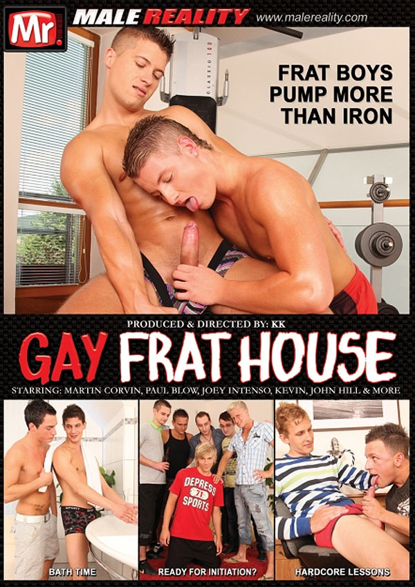 Gay Frathouse (Joey Intenso & David Road) (Scene 2) at Male Reality