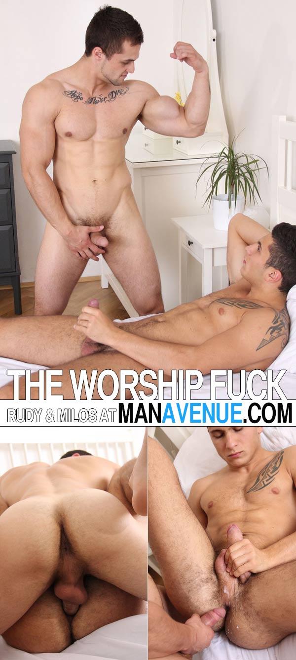 Rudy Bodlak & Milos Zambo (The Worship Fuck) at ManAvenue